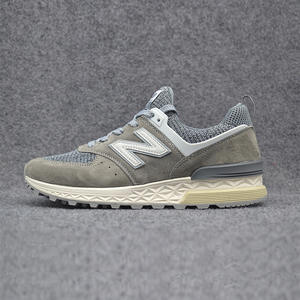 Original 2018 New Balance Nb574 574 Ms574 Mens Shoes Women Breathable  Sneakers Badminton Shoes Lace-up Training Shoe Size 36-44 4d6cf33a27