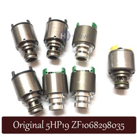 5HP19 Transmission Solenoid Set 7pcs for Audi a4 a6 Volkswagen Passat BMW 330i 325i Jaguar S Type ZF5HP19 Solenoids