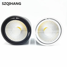 10W/15W/20W COB Led downlight Dimmable Surface Mounted Ceiling Spot light AC110V AC220V lamp