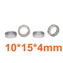 HSP 86693 286068B Parts Ball Bearing Axle 10x15x4mm 02138 For 1 10 1 16 RC Cars