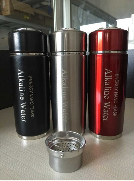 Hot!Free Shipping By China Post Stainless Steel Alkaline Water Cup Nano Energy Cup with CE and Rosh Certificate Кубок