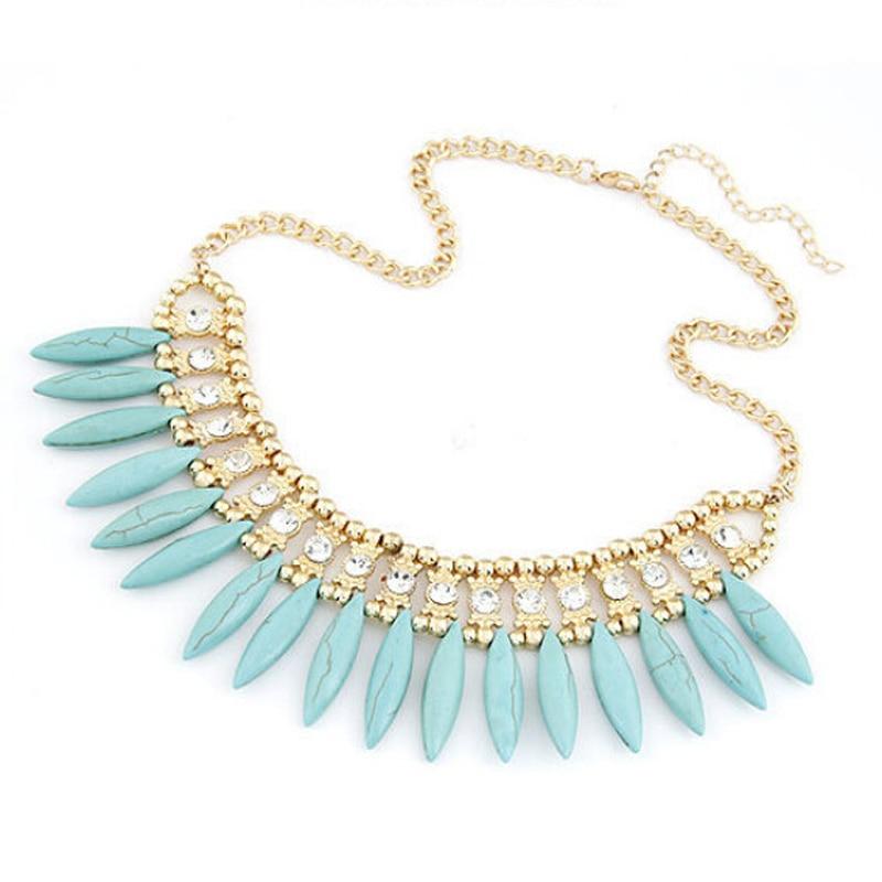 Fashion Charm Jewelry Pendant Choker Chunky Statement Bib Collar Necklace Chain