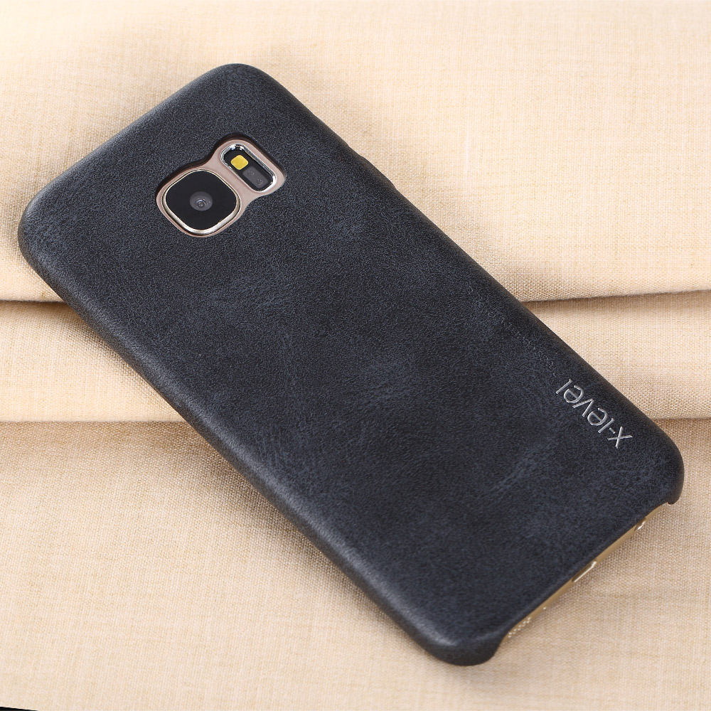 super popular cbbaa fb828 X Level Leather Case For Samsung Galaxy s8 5.8