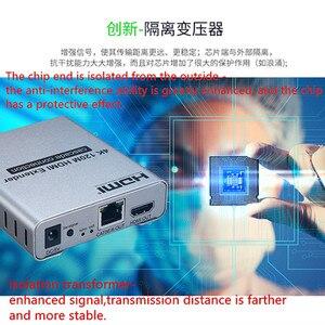 Image 5 - 4K HDMI Extender Adapter IR Sender Zu Empfänger 120m durch KATZE Kabel Netzwerk UTP Buchse, 1TX zu NRXs Für HDTV Kostenloser Versand