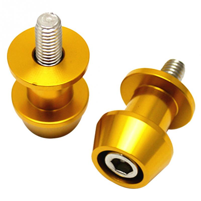 8mm Aluminum Motorcycle Stand Swingarm Spools Slider Stand Screw for Yamaha Harley Suzuki Honda ATV Cavalletto Motor 0919 in Stands from Automobiles Motorcycles