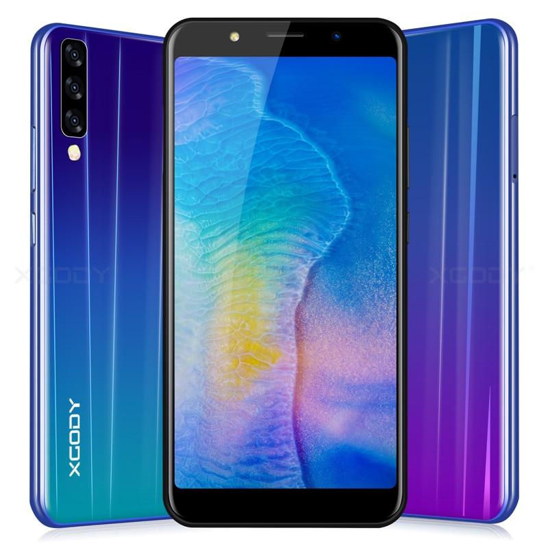 XGODY P20 Pro 18:9 plein écran 3G déverrouiller 6 pouces Smartphone Android 8.1 Quad Core 2 GB + 16 GB téléphone Mobile 5MP 2500 mAh