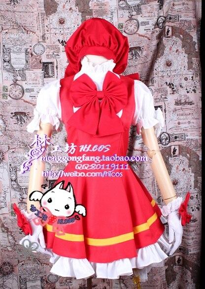 hat Cardcaptor Sakura kinomoto sakura cosplay costume Magical pink dress