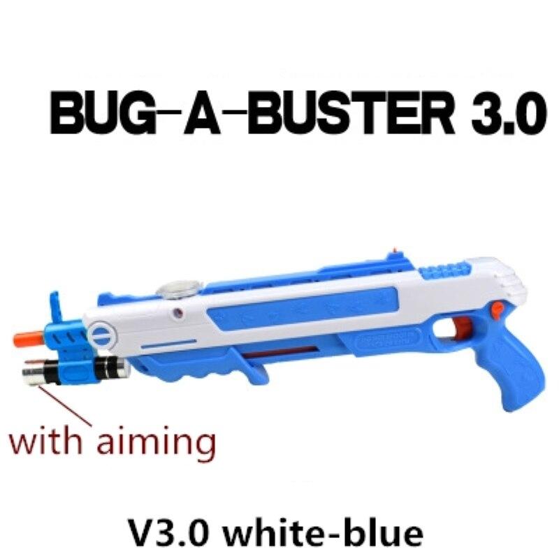 12 type Chaude Cadeau Bug Un Sel Voler Pistolet Sel et Poivre Balles Blaster Airsoft pour Bug Soufflette Moustique jouet modèle en plein air Pistolet À Sel