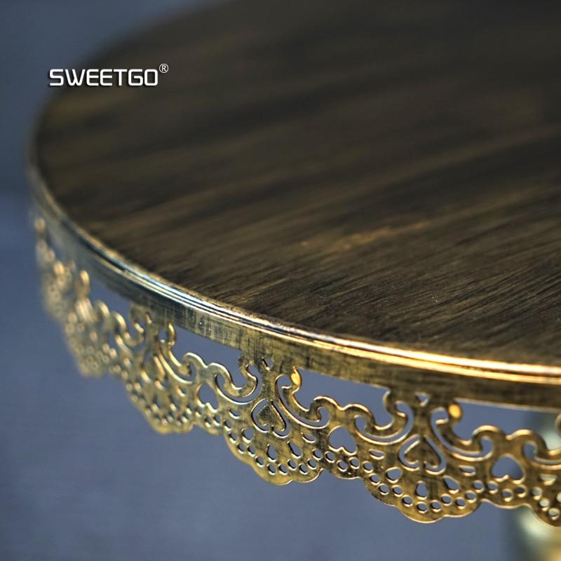1 db arany-európai esküvői party dekoratív sütemény-állványok - Konyha, étkező és bár - Fénykép 4