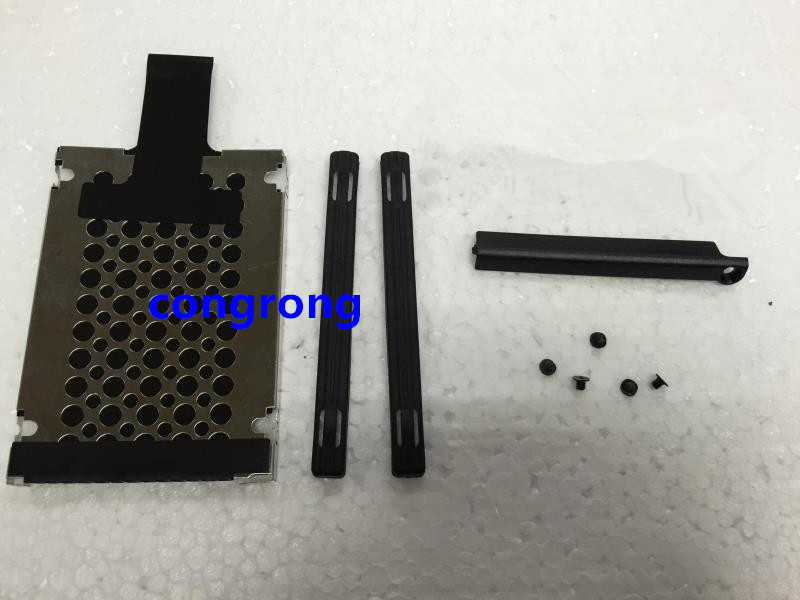 For Lenovo ThinkPad X220 X230 X220T X230T T420S T430S Hard Drive Disk HDD Caddy Cover + Rubber Rails + Screws 7MM 04W1716