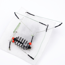 FISH KING 1PC20G25G30G40G45G High Quality Explosion Hook Carp Fishing Hooks Swivel With Line Hook Lead Sinker