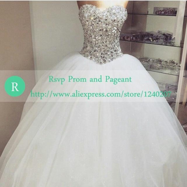 Online Buy Wholesale sweetheart neckline ball gown wedding dress ...