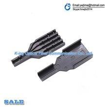 Caja de protección de cable óptico FTTH de 100 piezas caja de protección de fibra óptica para proteger la bandeja de empalme de fibra 1 en 4 out