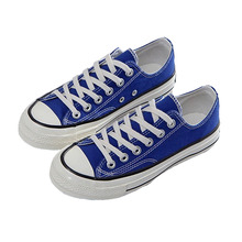 New Ladies Canvas Shoes Lace Up In Women