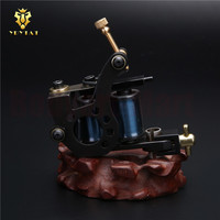 Original YRYTAT 8 Wrap Coil Tattoo Machine Carbon Steel Liner Shader Tattoo Gun For Tattoo Power