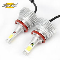 All In One 2Pcs Lot Hot Car Styling Auto Lamps Kit 6000LM 12V H8 H9 H11