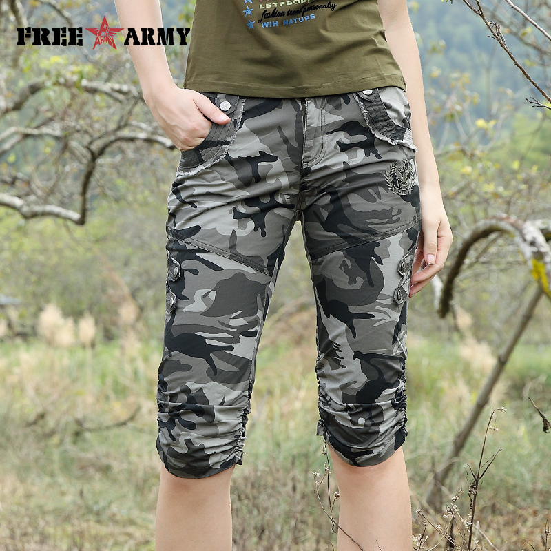 Plus Size Camouflage Capri Promotion-Shop for Promotional Plus ...