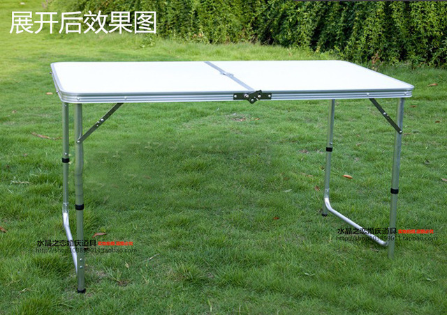 wedding party foldable table height can be ajusted suit for table