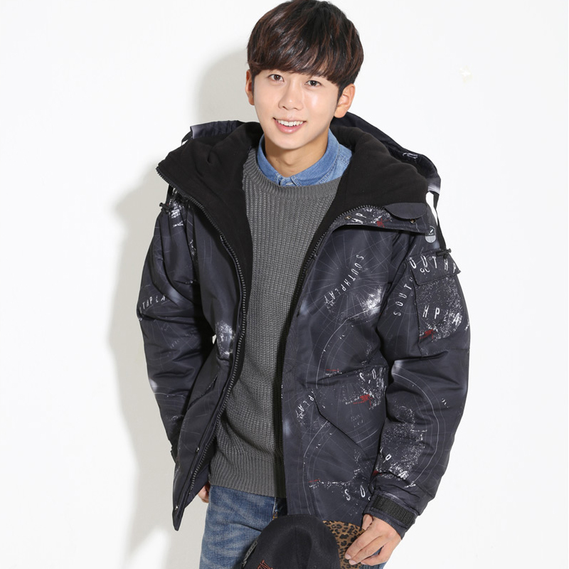 Newest Edition Southplay Winter Waterproof 10,000mm Warming Military Jacket-South Black