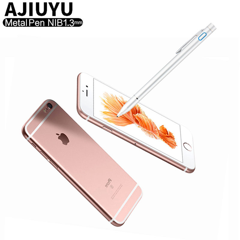 High precision Active Pen Stylus Capacitive Touch Screen For Apple iPhone X XS Max 8 Plus 7 6 6s 6Plus 7plus 5 Mobile phone Case|active pen|active pen stylus|pen stylus - title=