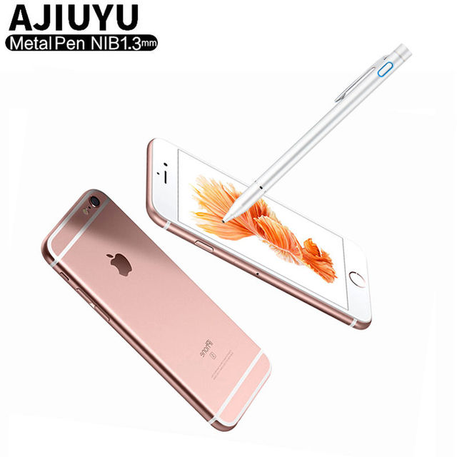 the latest 6b1c2 74286 US $26.97 |High precision Active Pen Stylus Capacitive Touch Screen For  Apple iPhone X XS Max 8 Plus 7 6 6s 6Plus 7plus 5 Mobile phone Case-in  Mobile ...
