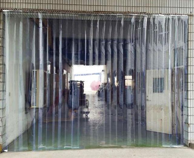 Airconditioning muggen gordijn transparante PVC plastic partitie ...