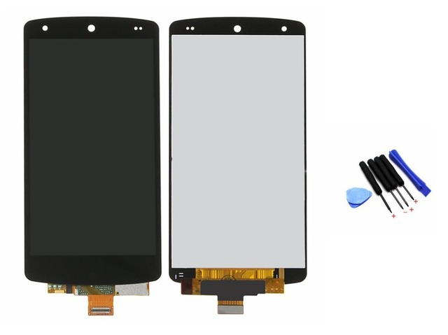 For LG Google Nexus 5 D820 D821 LCD Display Touch Screen Digitizer Assembly + Tools, Black Free Shipping + Tracking No.