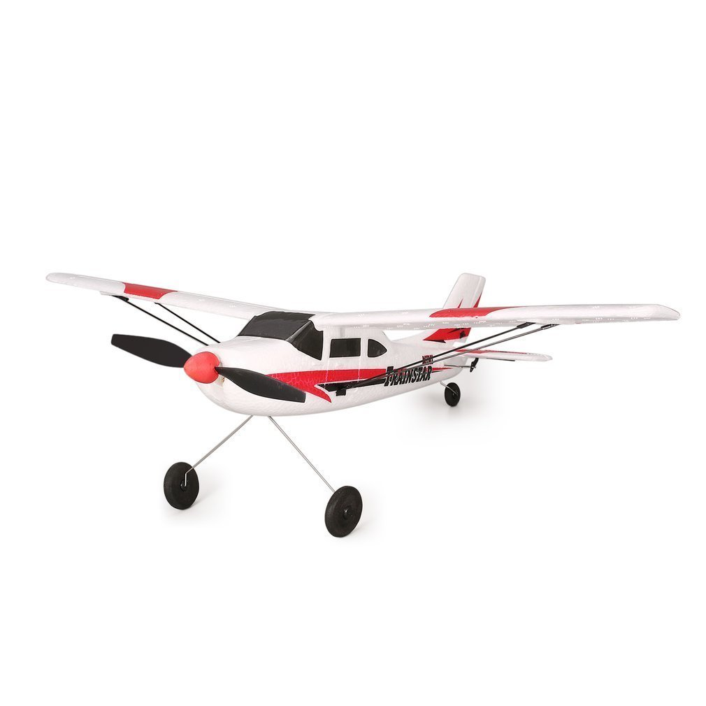 Image 4 - VOLANTEX V761 1 2.4Ghz 3CH Mini Trainstar 6 Axis Remote Control RC Airplane Fixed Wing Drone Plane RTF for Kids Gift Present-in RC Airplanes from Toys & Hobbies
