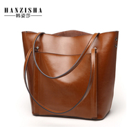 2017 High Quality Genuine Leather Women Handbags Fashion Design Leather Women Bag Large Capacity Famous Brand