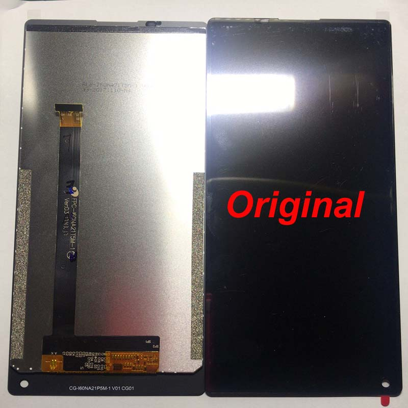 100 original LCD For Vernee Mix 2 LCD Display With Touch Screen Digitizer Assembly Replacement With