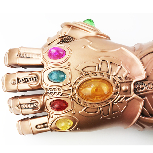 Infinity War Thanos gauntlet