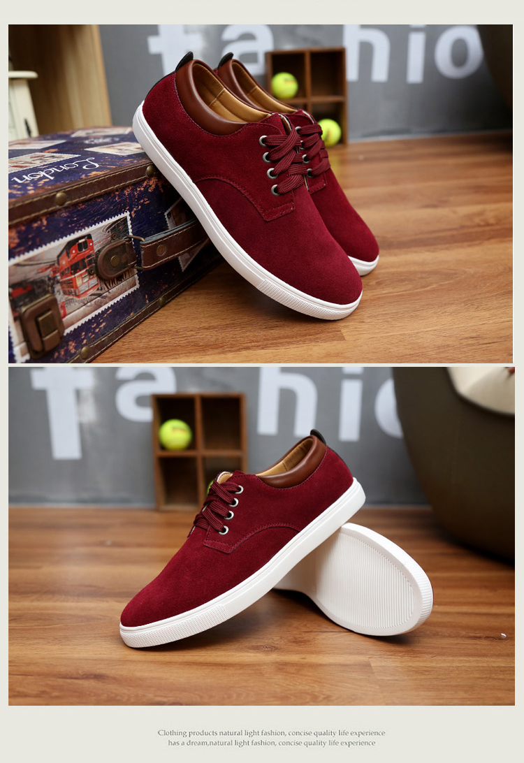 Suede Big Lace-Up 38-49 9