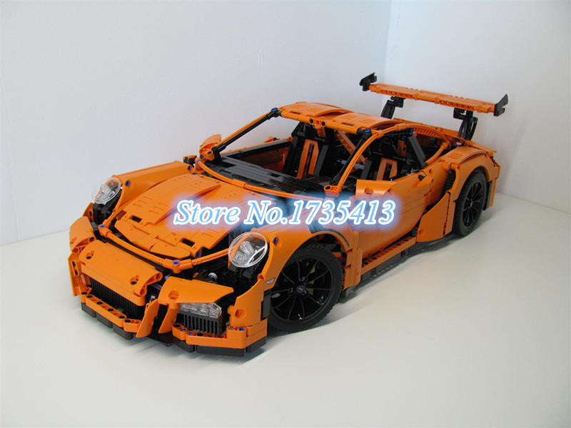 AIBOULLY 2017 New 726PCS 3368 technic series 911 GT3 RS Model font b Building b font