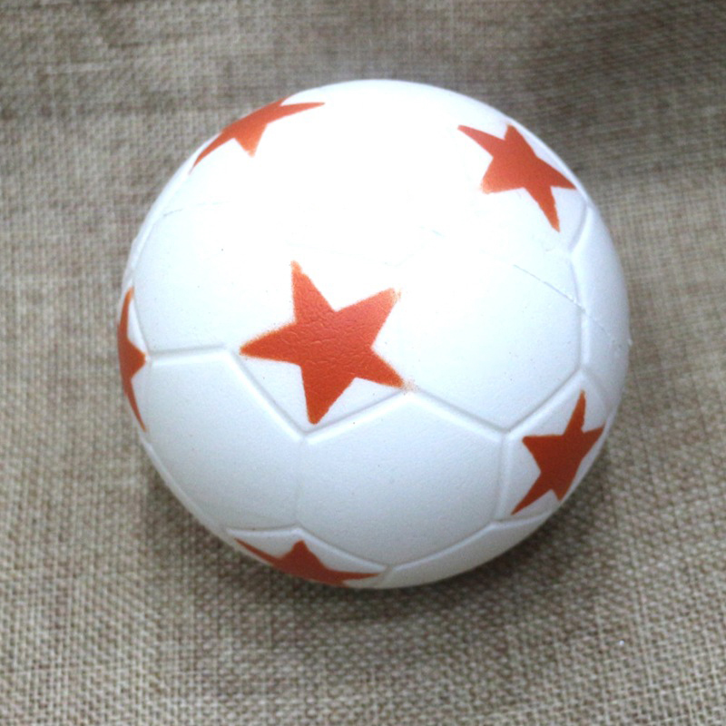 9CM Funny Football Squishy Cute Anti stress Ball Squeeze Slow Increase the Kids Fun PU Squishy Toys