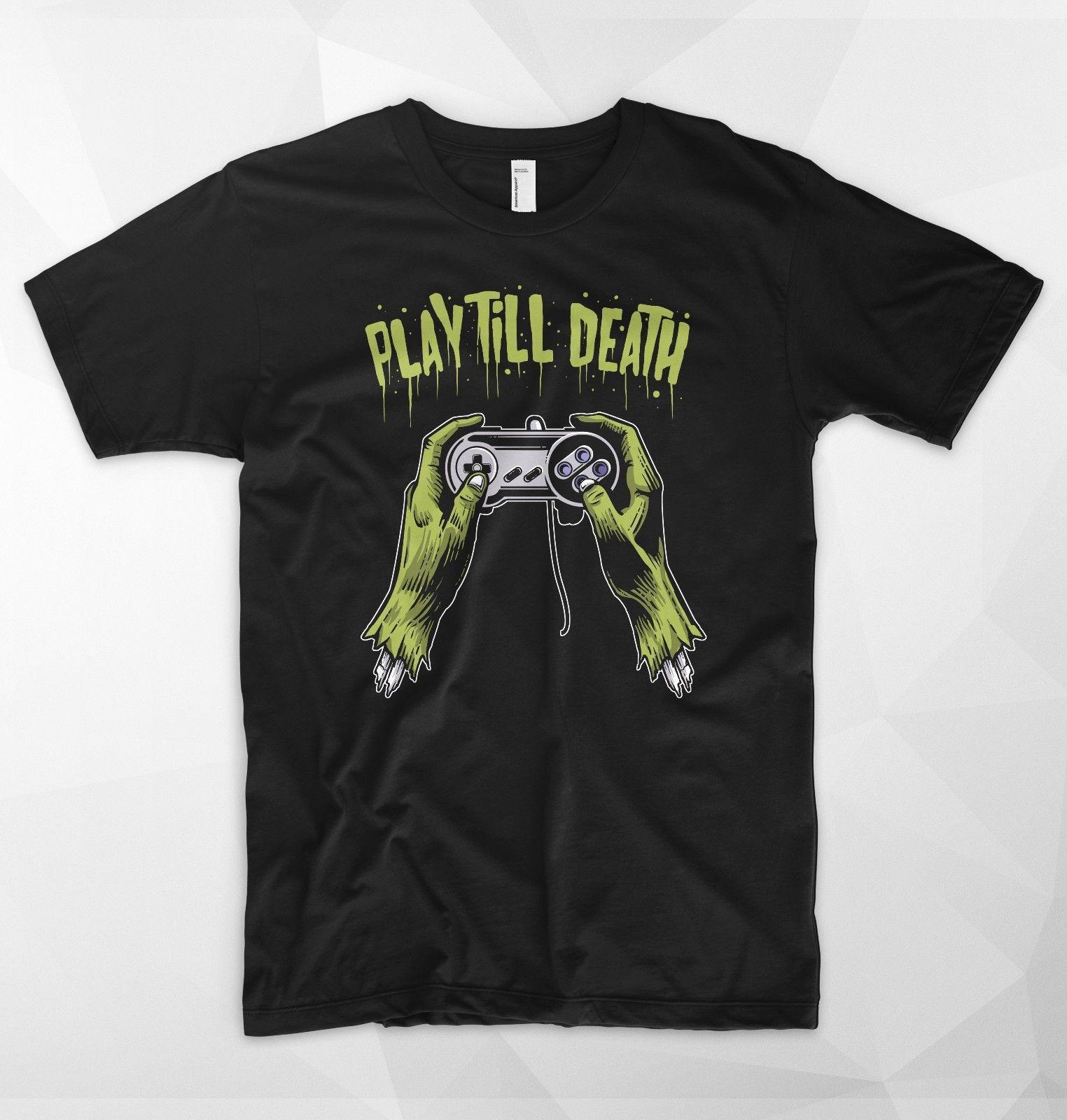 Играть до смерти майка зомби nerd-мастер Gamer nes snes консоли ПК, выберите оружие