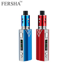 FERSHA 100W Electronic cigarette kit 3-speed adjustment510 vape mod metal body 2000mAh battery 0.5ohm 2ml electronic aerosolizer