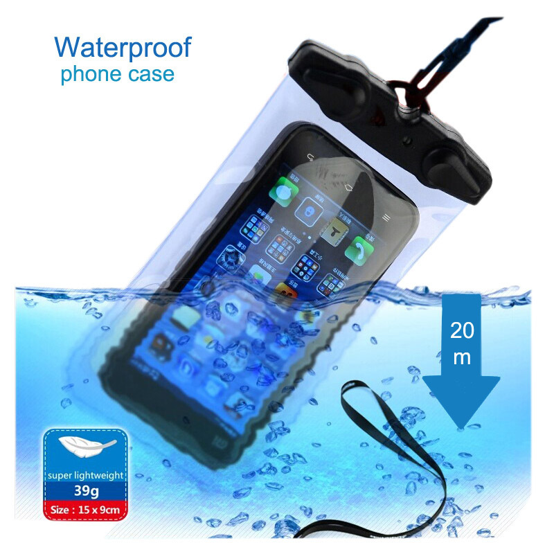 NatureHike Factory Store Waterproof Bag Dry Bag For Mobile Phone Universal Waterproof Pouch Cell Phones Portable Bag