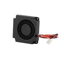 3d принтер турбинный вентилятор 5 в 12 В 24 в 40 мм* 10 мм 4010 DC турбо вентилятор гидравлический подшипник воздуходувка Радиальные Вентиляторы Охлаждения для Creality CR-10