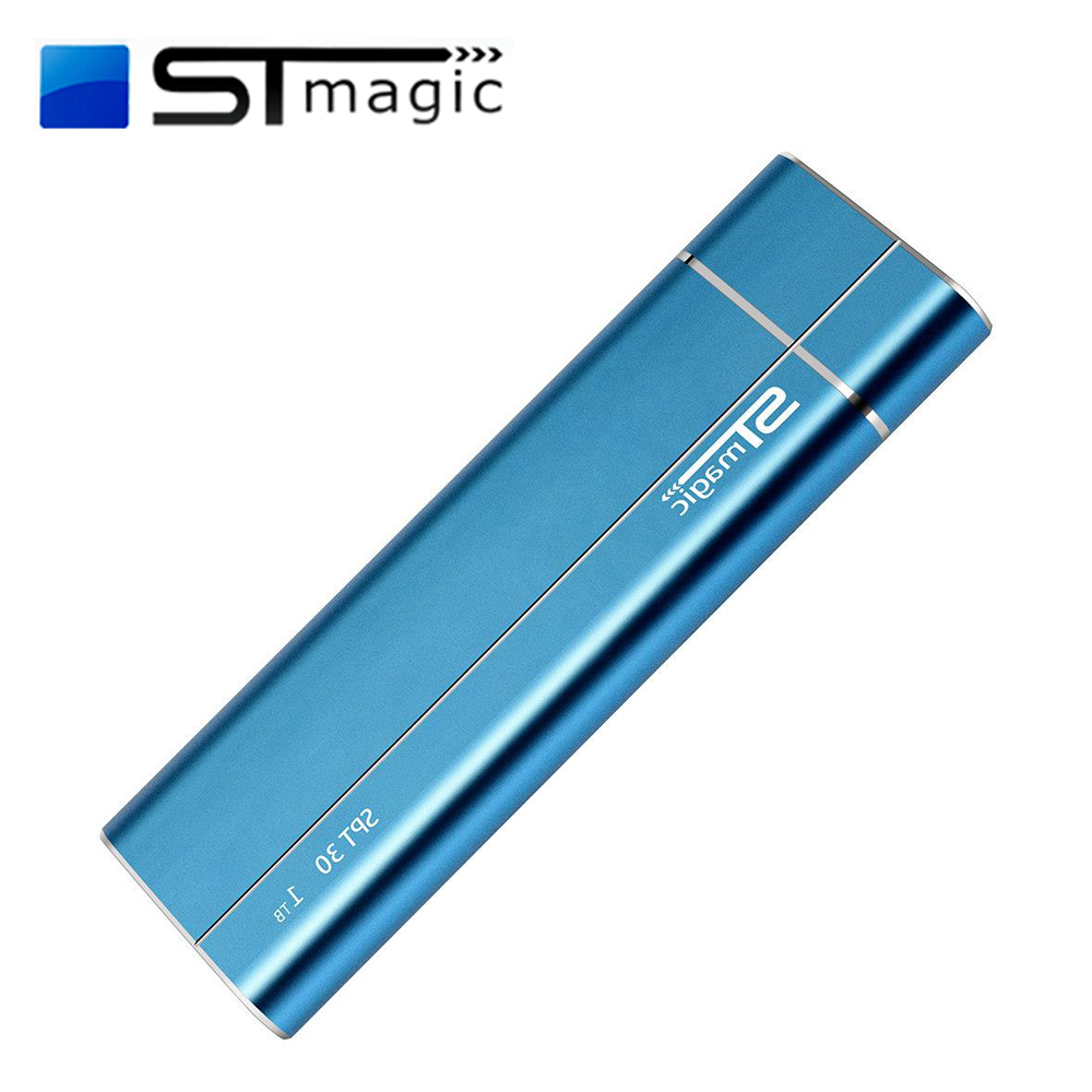 STmagic SPT30 256GB 512GB 1TB Mini Portable M.2 SSD USB3.1 To Type-C External Solid State Drive For PC Laptop Read Speed 480MB/s
