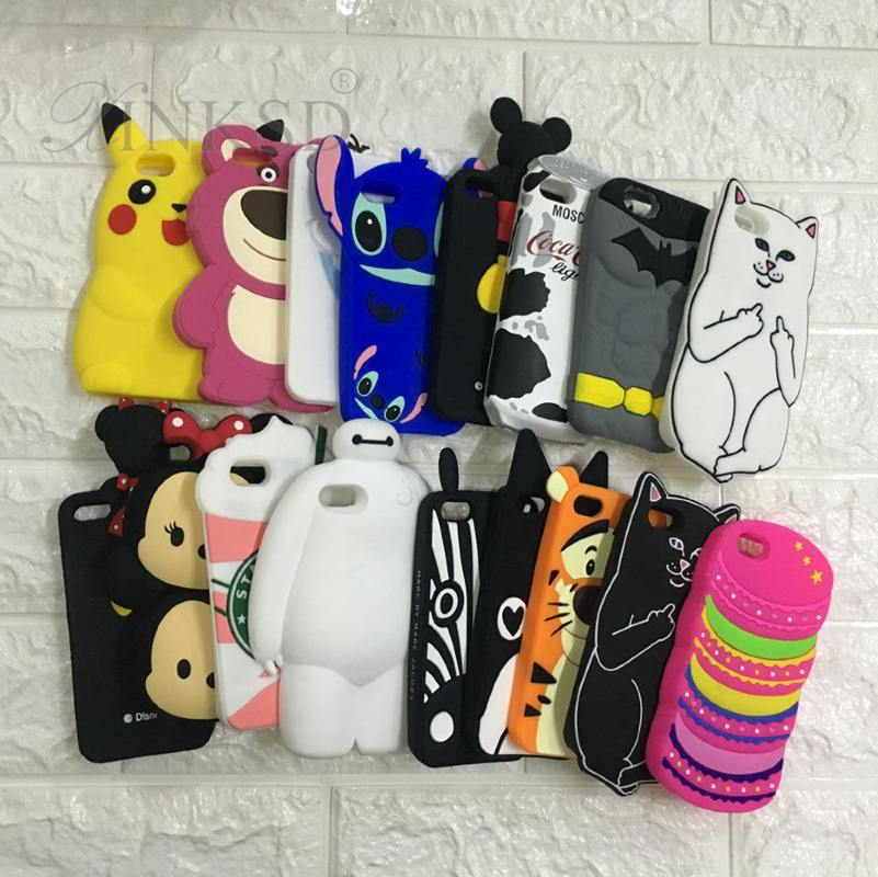 5 S case For Apple iPhone 5 5S Cases 3D Cartoon Animal Silicone Soft Cases Cover Rabbit Cat Tiger Stitch for iphone5 phone case