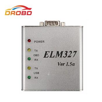 Yeni ELM327 V1.5 USB Metal Alüminyum PIC18F2480 ve FTDI FT232BL çip OBD2 Otomatik Teşhis-aracı ELM 327 Al Kod okuyucu Tarayıcı V1.5