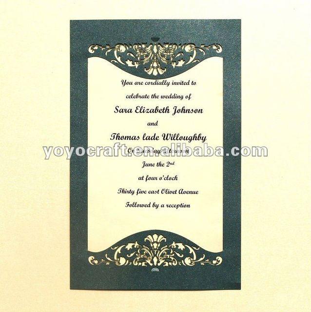 Aliexpress Buy Best salelaser cut wedding invitation cards – Best Invitation Cards