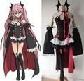 Anime serafín de finales de owari ningún serafín krul tepes uniforme cosplay set completo dress outfit tamaño s-xl