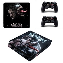 Spiderman and Venom Film PS4 Slim Skin Sticker