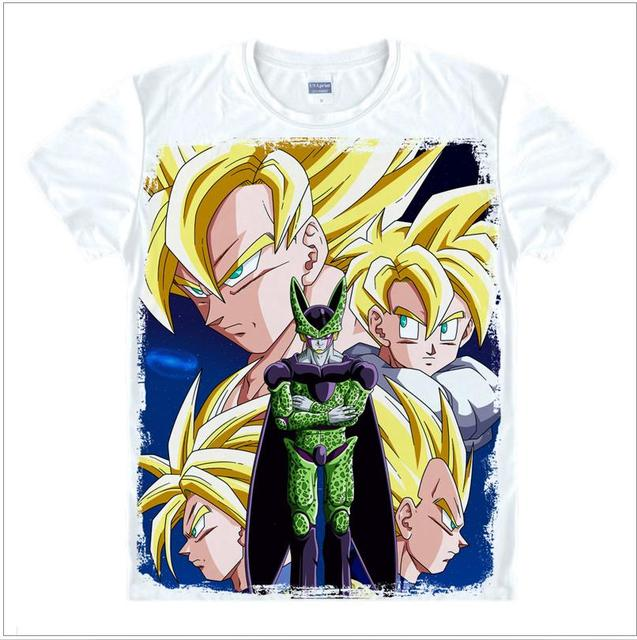 dragon ball z t shirt for men Super Saiyan goku Sun Wukong Piccolo Master Roshi t-shirt Classic Anime Vegeta unisex tshirt tops