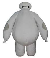 Halloween Inflatable costume Big Hero 6 Baymax Party Cosplay costume for men adult inflatable clothing baymax Mascot Costum