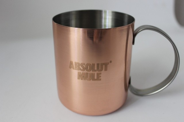 12oz Stainless Steel Mule Mug Copper Moscow