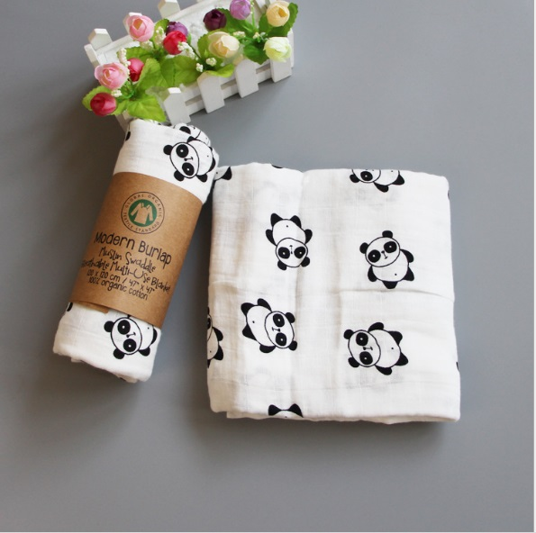 Bamboo Cotton Muslin Baby Swaddles For Newborn Baby Blanket Gauze Supplies Children Dream Blankets Infant Swaddle Towel 120*120