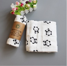 Bamboo Cotton Muslin Baby Swaddles for Newborn Blanket Gauze Supplies Children Dream Blankets Infant Swaddle Towel 120*120