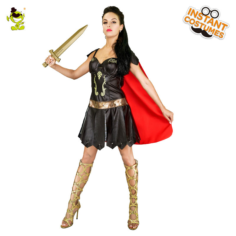 2017 Nova bojevita ženska noša odrasle ženske Vikinške bojevnice - Karnevalski kostumi